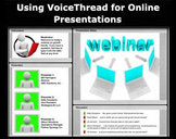 Using VoiceThread for Online Presentations