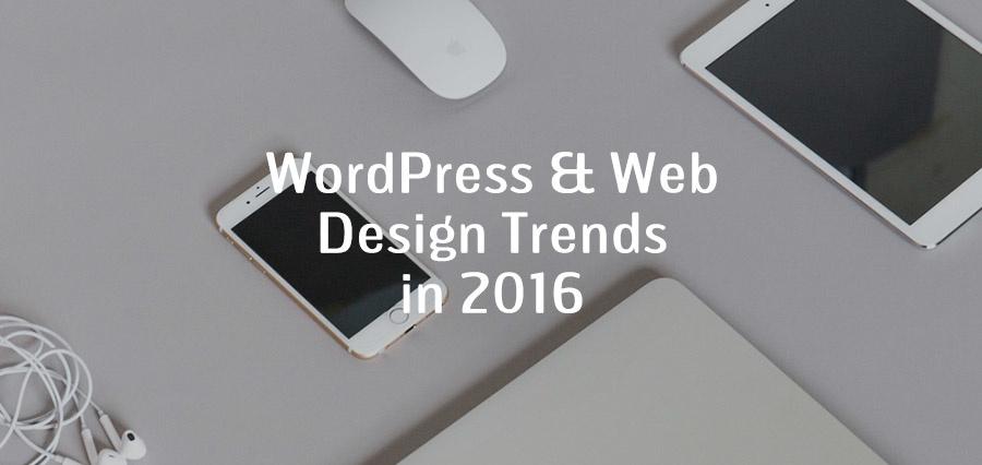Zinavo Technologies WordPress & Web Design Trends In 2016 - Image 1
