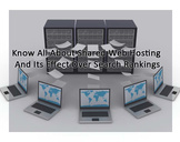 Know All About Shared Web Hosting And Its Effect Over Search Rankings