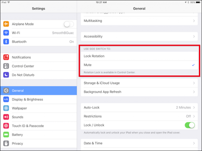 How to Change the Function of the iPad's Mute Switch - Image 3