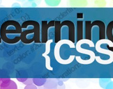 Learning CSS