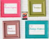 Photo Editing Frames and Background Online  using Android Applications