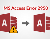 Manual Solution to Fix MS Access Database 2950 Error