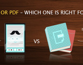 eBook Or PDF�Which One Is Right For Me?