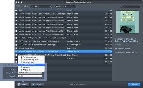 How to Convert AA/ AAX audiobooks to MP3 on Mac - Image 2