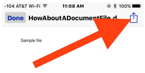 How to Save a Mail Attachment to iBooks in iOS - Image 2