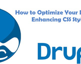 How to Optimize Your Drupal Site by Enhancing CSS Stylesheets?