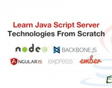 Learn Java Script Server Technologies From Scratch