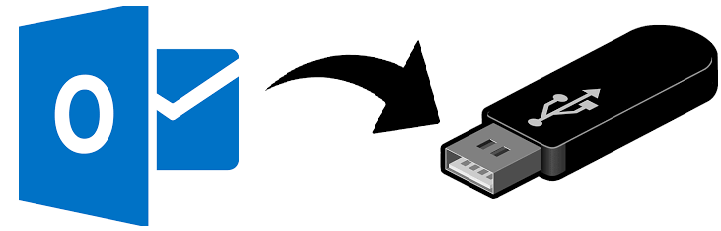 How to Export Outlook Contacts to Thumb Drive in Two Different Ways - Image 1
