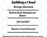 Things to consider before building a private cloud