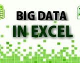 Big Data in Excel  -  Excel 2010/2013 Power Pivot