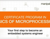 Certificate Program in Introduction to Microprocessors