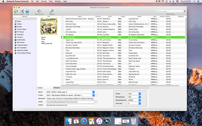Convert purchased iTunes music to MP3 - Image 2