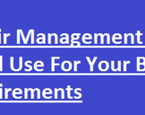 Repair Management Software Cloud Use For Your Business Requirements
