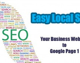 Easy Local SEO - Your Business Website to Google Page 1