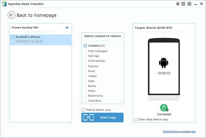 How to Transfer Your Contacts from iPhone to Android - Image 4