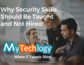 Why Security Skills Should Be Taught, Not Hired
