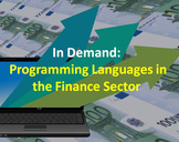 Programming Languages that are in demand in the Financial Sector