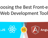 Choosing the Best Front-end Web Development Tool: AngularJS Vs React.js