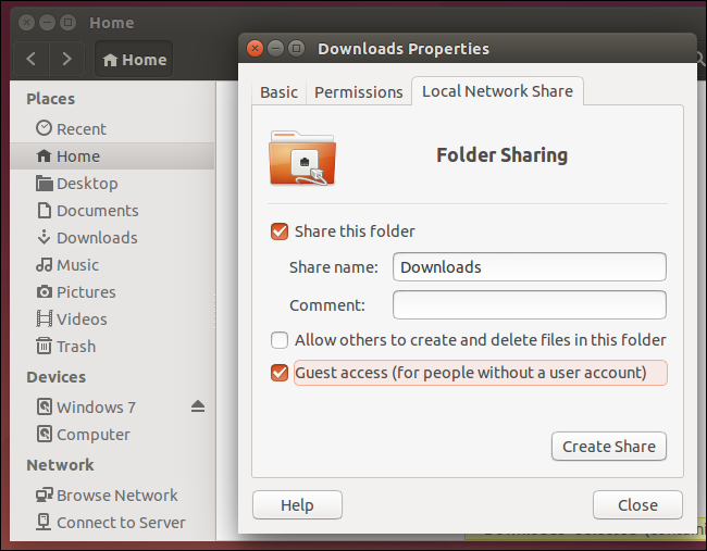 How to Share Files Between Windows, Mac, and Linux PCs on a Network - Image 9