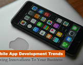 Mobile App Development Trends: Driving Innovations To Your Business<br><br>