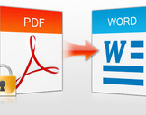 How to convert your PDF file into a Word format