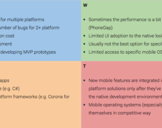 SWOT Analysis for Cross-Platform Mobile Solutions