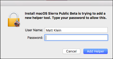 How to Install the macOS Sierra Public Beta - Image 12