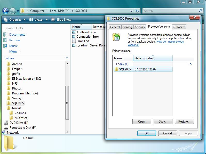 Solution to Recover Shift Deleted Files in Windows 7 (Without Software) - Image 3