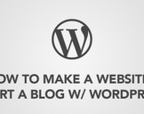 How to Make a Website / Start a Blog w/ WordPress in 2 hours