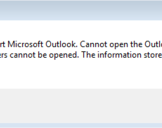 Best 5 Solution to Fix Cannot Start Microsoft Outlook Error Quickly
