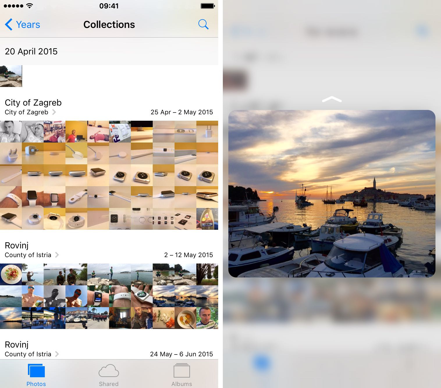 Sort through your photos like that with 3D Touch - Image 8