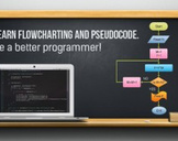 Learn Flowcharting and Pseudocode. Be a better programmer!