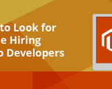 Things To Look For While Hiring Magento Developers<br><br>