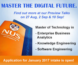Master the Digital Future - Join the preview talks on 27 Aug, 2 Sep & 10 Sep.