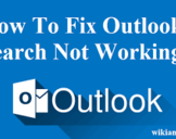How to Fix Microsoft Outlook Search Not Working Properly in Windows?