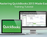 Mastering QuickBooks 2013 Made Easy Training Tutorial