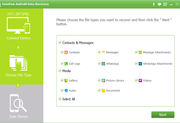 FonePaw Android Data Recovery: Android Photo Recovery Expert - Image 1