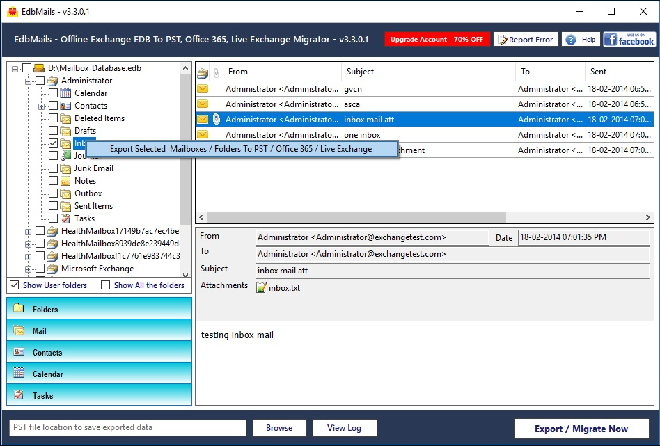Reducing Size of Large Exchange Databases - Image 1