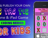 Publish Your TicTacToe iPhone Game without coding. For Kids