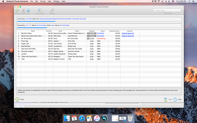 Convert purchased iTunes music to MP3 - Image 4