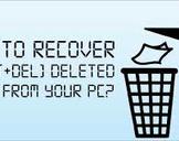 Restore or Undelete Files by shift+del+enter deleted files.<br><br>