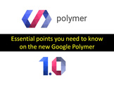 Essential points you need to know  about Google Polymer