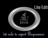 Java, from 1st code to expert programmer: Lite Edition