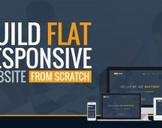 Build Flat Responsive Website from Scratch - Complete Course