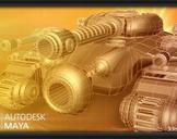 Hard Surface Vehicle Modeling in Maya