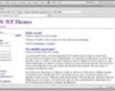 Dreamweaver and WordPress: Building Themes