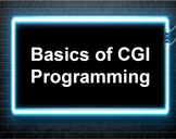 CGI for Programmers