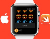 Learn Apple Watchkit with Swift, Casino Slot Machine app
