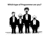 The 4 different areas of programming